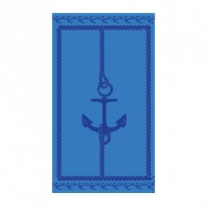 Πετσέτα θαλάσσης Art 2139 80x160 Μπλε Beauty Home
