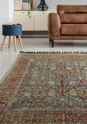 Πατάκι Boutique Art 9808 0.64x1.40 Εμπριμέ,Κόκκινο Beauty Home
